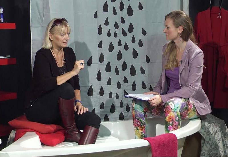 Táňa Havlíčková rozhovor ve vaně