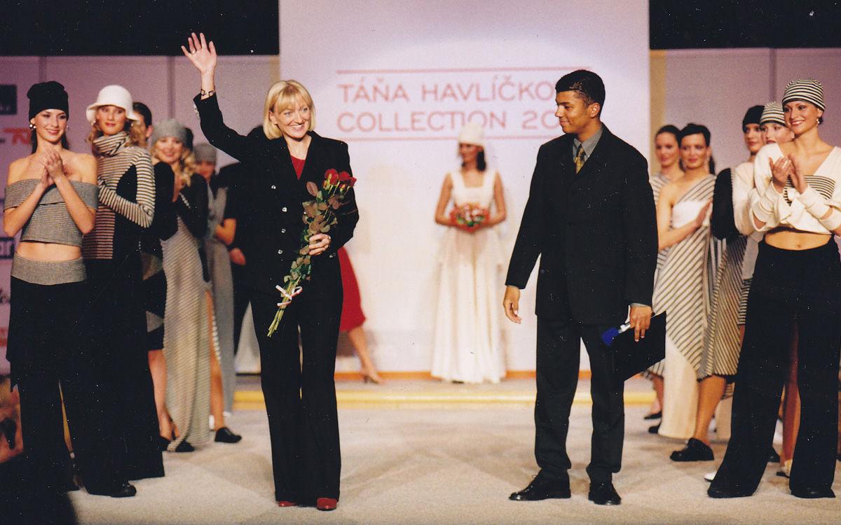 Táňa Havlíčková - módní návrhářka