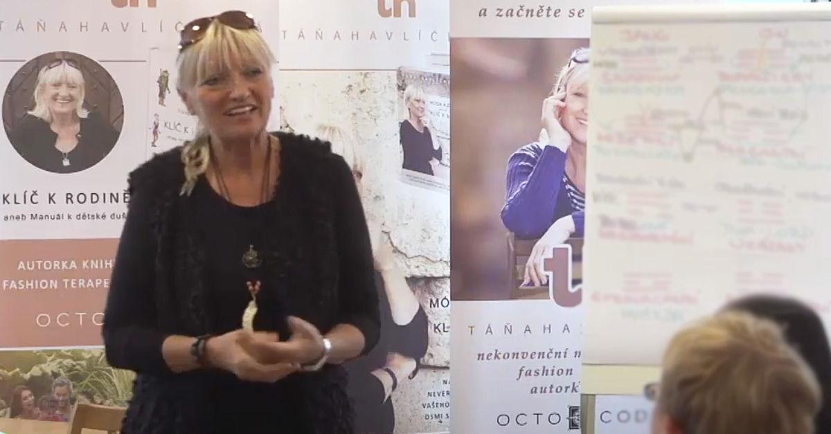 Táňa Havlíčková záznam semináře